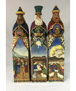 "Jim Shore 20"" Tall 3 Wisemen Set Gift of Love, Caring, & Hope 2005 Excel... - $225.00"