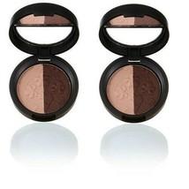 2 x Laura Geller Baked Impressions EyeShadow Duo Fine Wines (rose/burgundy) LOT! - $10.00