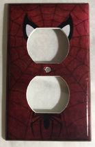 Spiderman Logo Light Switch Duplex Outlet Wall Cover Plate Home decor image 13