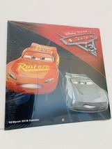 Disney Pixar Cars 3 16-Month 2018 Calendar *SEALED* - $9.89