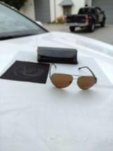 Diesel sunglasses unisex DL0066 14P 60/13 brown lense silver frame - $148.45