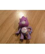 "Mini Share Care Bear Cuties PVC Toy Action Figure Lollipops Purple 3"" Used  - $7.00"