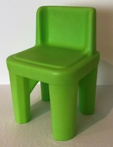 Step 2 Child Size Chair Green Chunky One Piece Style Chair for Table Des... - $19.99