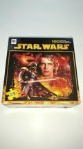 Star Wars Puzzle 100 Pcs Darth Vader Luke Skywalker Milton Bradley 2005 Open Box - $11.44