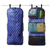 RuMe Tri-fold Garment/Clothing Travel Organizer Bag Blue Lattice New Opened - $485,73 MXN