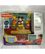 Fisher Price Easy Link Internet Launch Pad Disney Pooh Mickey and Jojo A... - $32.71