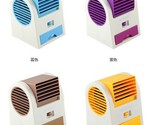1 Piece  of Portable USB Ultra-quiet No Leaves Mini Air Conditioning Fan Aromath