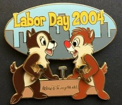 Chip and Dale Labor Day Authentic  Disney Pin - $14.99