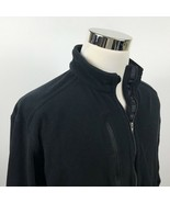 Patagonia Mens Large Synchilla Full Zip Fleece Jacket Black CDW IBM Outd... - $49.95
