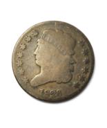 1826 1/2c Classic Head Half Cent Rare United States Coin  - $62.36
