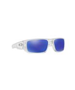 Oakley Crankshaft Sunglasses OO9239 09 Matte Clear | Violet Iridium Pola... - $59.39
