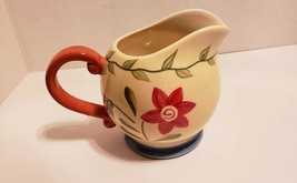 Pfaltzgraff Napoli Hand-Painted Ceramic Small Pitcher/ Creamer - $12.86