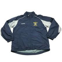 CCM WAYZATA HOCKEY Jacket Size M Medium Loose Fit Windbreaker Mesh Lined... - $27.33