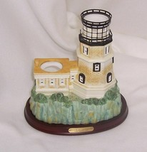 PartyLite Split Rock Lighthouse Hand Painted Porcelain Collectible  - $23.71