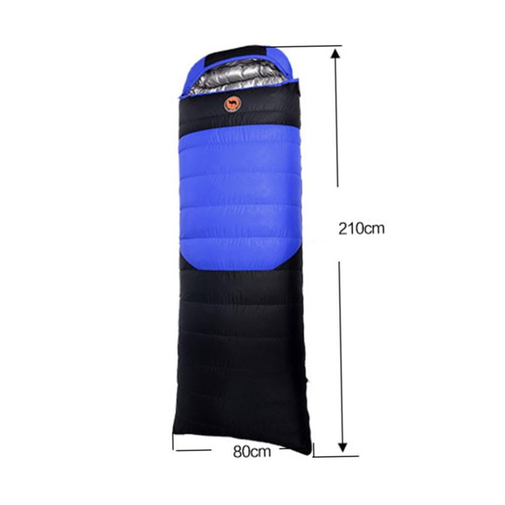 800g Duck Down Ultralight camping sleeping bag