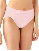 Bali Comfort Revolution Seamless Hi Cut Brief, Sz 8 / 9 Blushing Pink 30... - $9.89