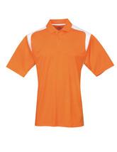 Tri-Mountain Blitz 145 Knit Polo Shirt - Orange /  White - €16,54 EUR+