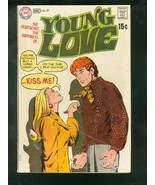 YOUNG LOVE #77 1969-DC ROMANCE--- G - $14.90