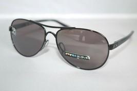 Oakley Tie Breaker POLARIZED Sunglasses OO4108-11 Polished Black W/ PRIZ... - $102.36