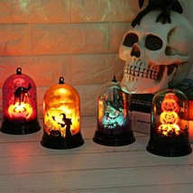 Pumpkins Halloween Lamp Witch Homes Decor LED Strings Lights Lanterns La... - £8.42 GBP