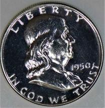 1950 Proof Franklin Half Dollar; Brilliant Choice Proof - $544.49