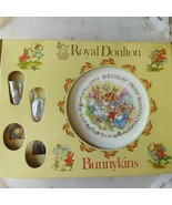 Royal Doulton Bunnykins Plate with Fork and Spoon - $11.48