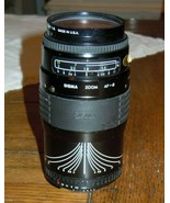 Sigma AF-a 35-135 mm f3.5-4.5 Lens With Macro & Tiffen Sky 1-A (Unknown ... - $26.72
