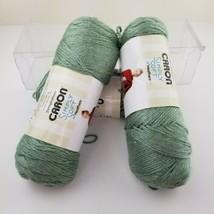 Lot of 3 Caron Simply Soft Yarn 4 Medium 5mm 100% Acrylic 5 oz  Woodland Heather - $28.05