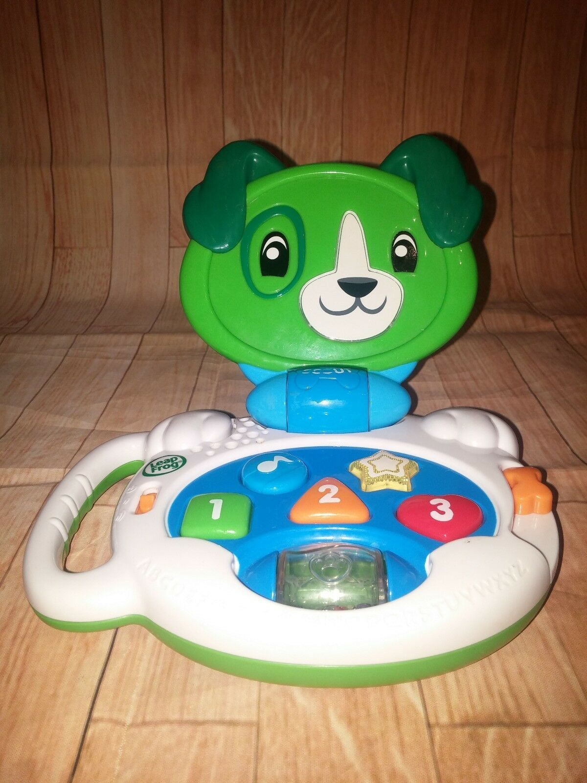 Leapfrog 19197 My Talking Lap up Scout Lively Puppy Pal Baby Toy CLEARANCE - $9.89