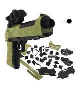 DIY Building Blocks Toy Gun Beretta Gunsight Assembly Puzzle Model Can Fire - $14.75