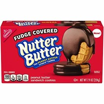 Nutter Butter Chocolate Fudge Cookies, 7.9 Ounce - $10.99