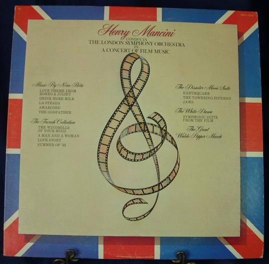 Henry Mancini, London Symphony - A Concert of Film Music - RCA APL1-1379