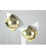 Grosse Germany 1972 Vintage gold tone Earrings - $23.09