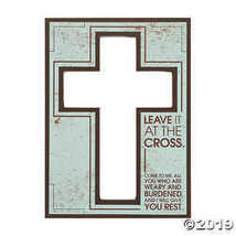 Leave It at The Cross Sign - $12.49