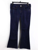 William Rast Indigo Wash Low-Rise Slim Bell Bottom Hare Jeans Size 25