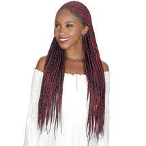 Zury Sis Synthetic Diva Lace Front Wig - Fulani Box 30 Inch - $79.95