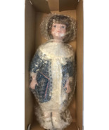 MYD Marian Yu Designs Collectible 13'' Ariel Porcelain Doll With Stand - $9.90