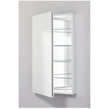 "Robern PLM2440WBLE Pl Series 24"" x 40"" Left Hinge Medicine Cabinet in White - $297.00"