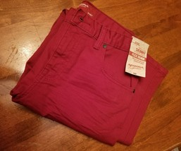 Arizona Jean Co. Skinny Flex Denim NWT 20 Regular Tibetan Red Juniors - $12.19