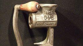 Hibbard Spencer,  Bartlett and Company Chicago, USA # 7 O-V-B Food Chopper  AA20 image 10