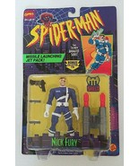 Marvel Comics Spider-Man Animated Series Nick Fury Toy Biz 1995 - $28.00