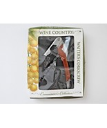 Wine Country Waiter's Corkscrew Connoisseur's Collection - Ships in 12 h... - $11.98