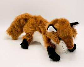 "Folkmanis Crafty Red Fox Hand Puppet 16"" Storytime Childrens Playtime Plush - $17.95"