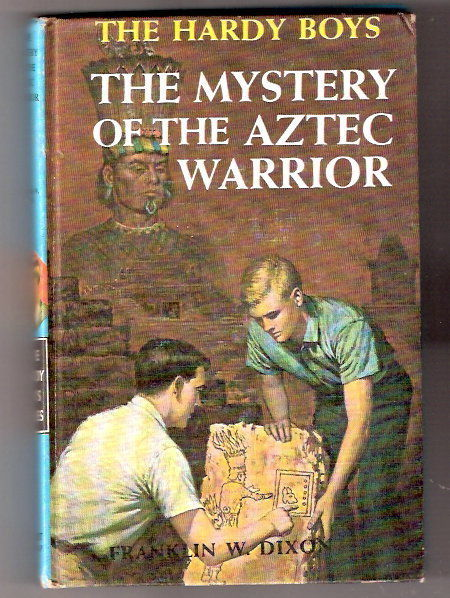 Primary image for Hardy Boys THE MYSTERY OF THE AZTEC WARRIOR   Early    20 chapers  1964