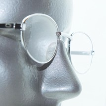 Reading Glasses Super Petite Oval Small Silver Metal Frame +1.75 Lens - $18.00
