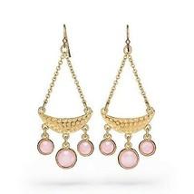 Avon Supernova Rose Chandelier Earrings - $14.85