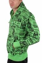 Corner Store Hero Green Hooded Sweatshirt Zip Up Hoodie Sweater Sex Ad NWT image 2