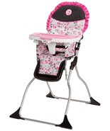 Disney Baby Minnie Mouse Simple Fold Plus High Chair with 3-Position Tra... - $182.00