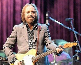 Tom Petty in a photo taken onstage.  - $7.18