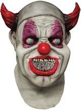 Maggot Clown Mask Digital Dudz Animated Gross Scary Creepy Halloween TB1... - $56.99